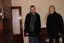 Přerovští radní na prohlídce hotelu Strojař