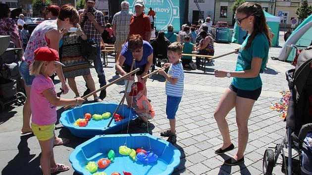 V Přerově proběhla pochoutková road show s programem pro děti.