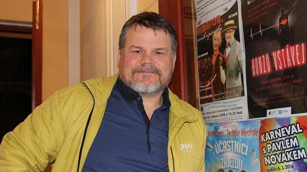 Šéf Divadla Dostavník Zdeněk Hilbert