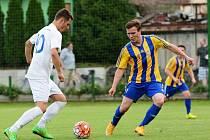 Fotbalisté Kozlovic proti Žďáru nad Sázavou
