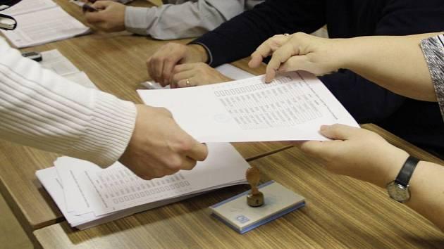 Volby zastupitelů místních částí Přerova. Ilustrační foto