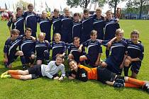 1. FC Viktorie Přerov U13 na turnaji v holanském Cuijku
