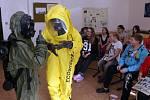 Vojáci představili armádu na přerovské základní škole v ulici Za Mlýnem