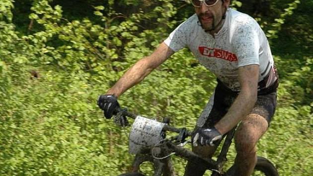 Biker Jaroslav Obruča