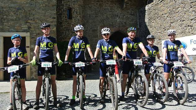MG Bike Team na Author Šela Marathonu
