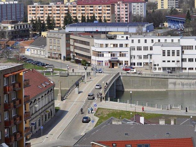Tyršův most v Přerově. Ilustrační foto