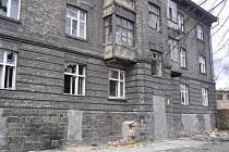 Škodova ulice v Přerově - duben 2013