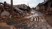 Troubky ulice Loučky II. v červenci 1997