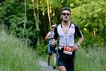 Triatlonový závod Mamutman 2018 na přerovské Laguně. Vítěz David Jílek. Foto: Deník/Jan Pořízek