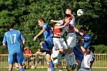 1.FC Viktorie Přerov (v modrém) vs. SK Hanácká Slavia Kroměříž