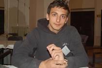 Šestnáctiletý Josef Kaleja z dětského domova v Přerově, který získal za záchranu lidského života cenu Fair play.