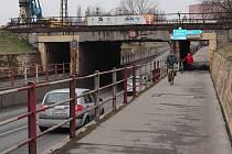 Už sedm let plánuje město cykopodjezd mezi Přerovem a Předmostím. Teď je projekt konečně na spadnutí.