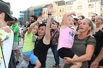 Koncert kapely Buty na Svatovavřineckých hodech v Přerově, 7. srpna 2021