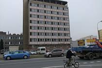 Budova bývalé sociální ubytovny v Bayerově ulici v Přerově