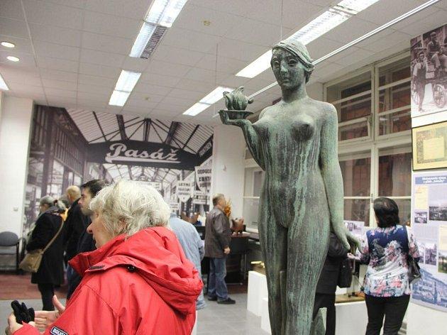 Slavnostní otevření expozice připomínající Středomoravskou výstavu v Přerově