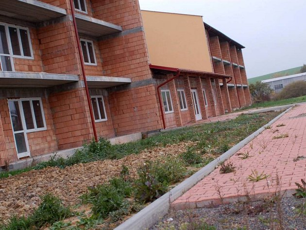 Nedokončená stavba domova pro seniory v Turovicích