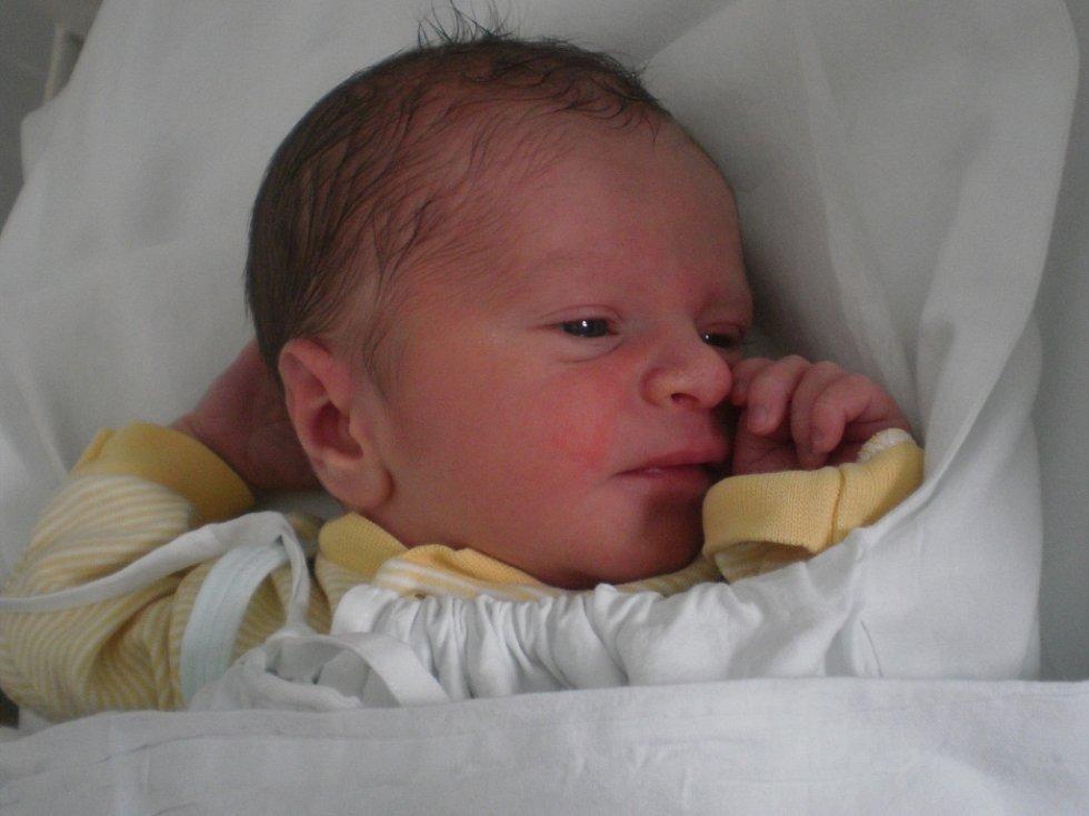 Patrik Klakurka, Přerov, narozen dne 1. května 2013 v Přerově, míra: 48 cm, váha: 2 994 g