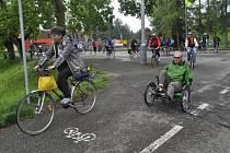První jarní projížďka po cyklostezce Bečva