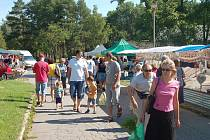 Farmářské trhy v Přerově. Ilustrační foto
