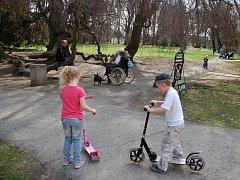 Park v Lipníku nad Bečvou