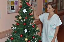 Pacientům, kteří zůstanou v nemocnici, se zdravotníci snaží tento sváteční čas co nejvíce zpestřit.