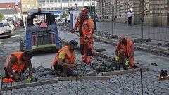 Rekonstrukce Kratochvílovy ulice v Přerově