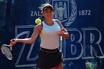 Tenistový Zubr Cup 2020 v Přerově. Miriam Bianca Bulgaru.