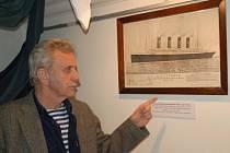 Derniéra výstavy Titanic v Muzeu Komenského