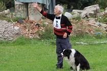 Mistrovství republiky pracovních psů se uskutečnilo v sobotu na výcvikové základně záchranných psů ve Vlkoši.