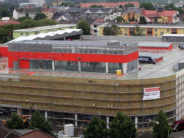 Stavba Galerie Přerov - 24. května 2016