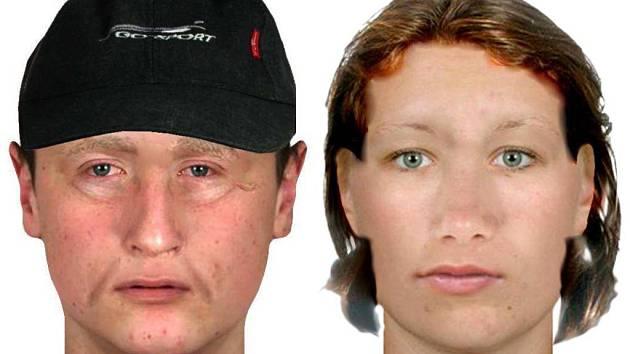 Rekonstrukce podoby muže a ženy, kteří obrali seniorku na Přerovsku kvůli údajně nezaplacené dani z pole