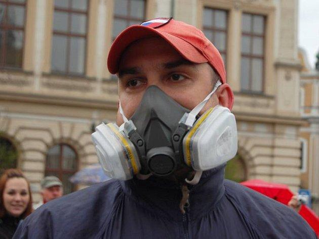 Protestní pochod proti spalovně v Přerově