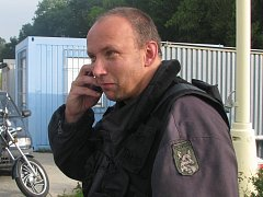 Kaskadér Pavel Kudela ze spolku Mapaj