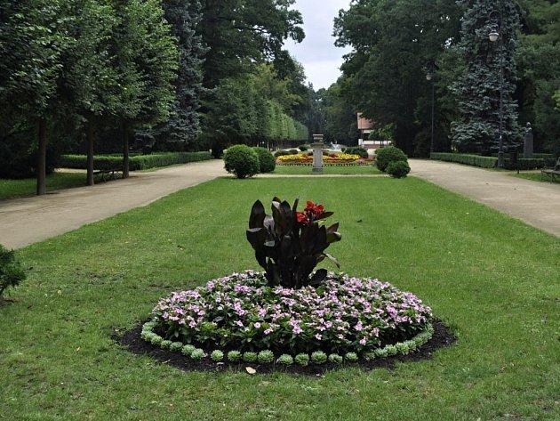 Park Michalov v Přerově. Ilustrační foto