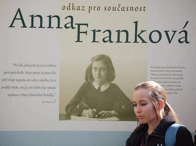 Výstava Anna Franková v Přerově
