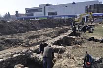 Archeologický výzkum u přerovského Prioru
