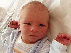 Michal Dokoupil, Tršice, narozen dne 12. října 2014 v Přerově, míra: 49 cm, váha: 3 548 g
