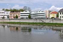 Studenti brněnské architektury navrhovali Městský dům u Bečvy v Přerově - Návrh Jana Havlíka