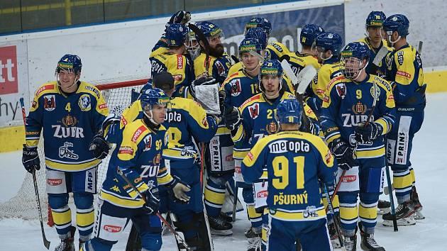 Hokejisté Přerova. Ilustrační foto