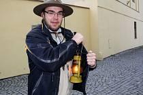 Skauti z Lipníku nad Bečvou o víkendu roznášeli Betlémské světlo