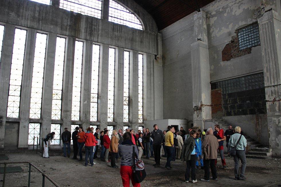 Areál někdejší městské elektrárny si mohli prohlédnout zájemci v rámci Dne architektury před pěti lety