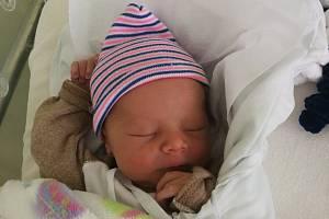 Filip Košina, Přerov, narozen 6. října 2019 v Přerově, míra 48 cm, váha 3238 g.