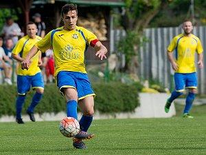 Fotbalisté FK Kozlovice. Ilustrační foto