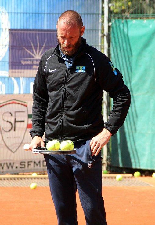 Trenér Tomáš Krupa