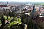 Vyhlídka ze Spanilé věže v Tovačově