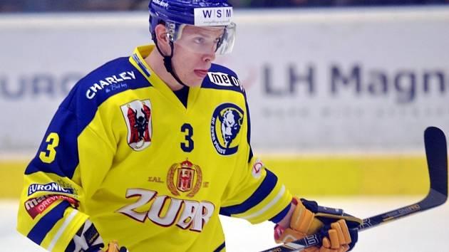 Obránce přerovských hokejistů Jiří Běhal