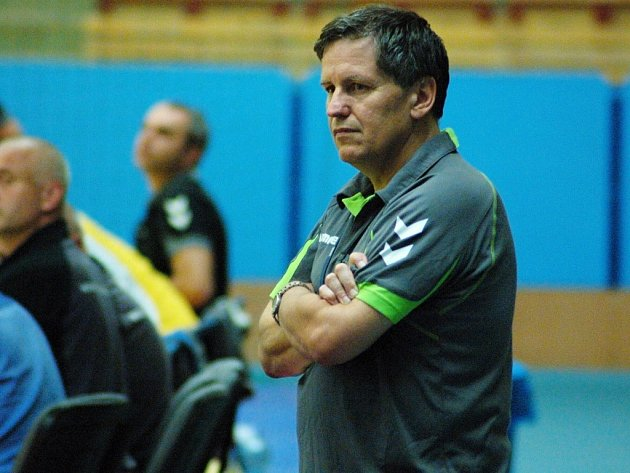 Richard Buček, předseda Sokola HC Přerov a asistent trenéra extraligového týmu mužů