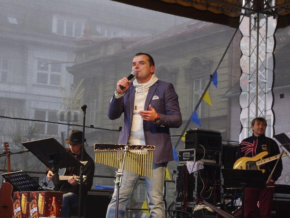 Štědrodenní koncert Pavla Nováka v Přerově 2015