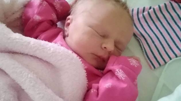 Dorotka Vaculíková, Hradčany, narozena 1. května 2019 v Přerově míra 49 cm, váha 3312 g