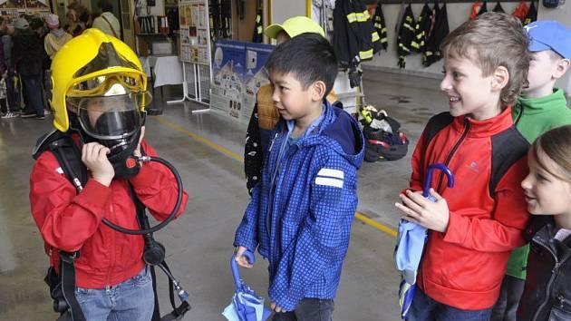 Pátek 13. na hasičské stanici v Přerově